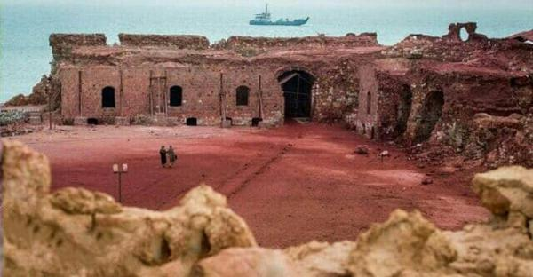 چرا بخشی از دیوار قلعه پرتغالی های جزیره هرمز فروریخت؟