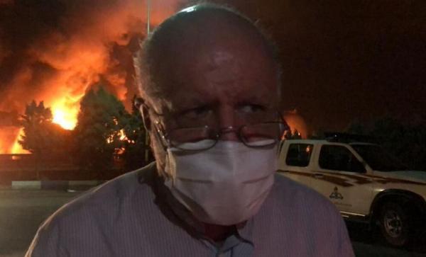 آخرین خبر زنگنه از آتش سوزی در پالایشگاه تهران و تامین بنزین