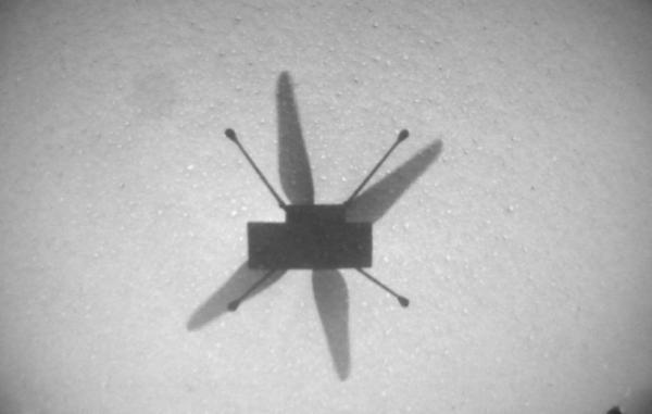 بالگرد نبوغ در هفتمین پرواز به منطقه ای تازه از مریخ دست یافت
