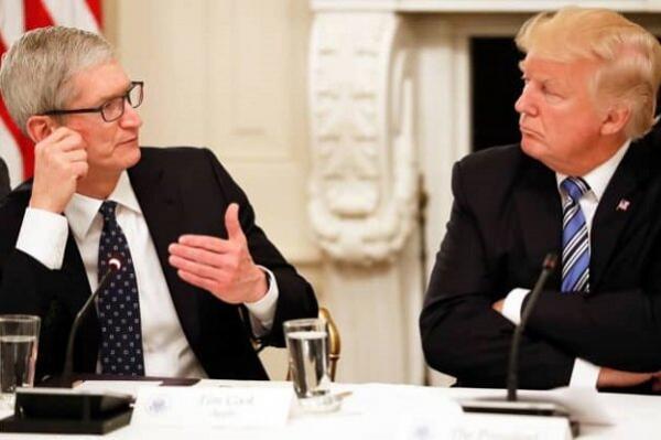 جاسوسی اپل و مایکروسافت برای دولت ترامپ فاش شد