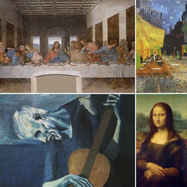 مرموزترین نقاشی های دنیا